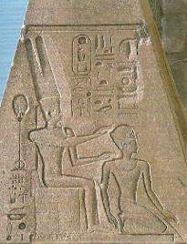 Hatshepsut si zeul Amon