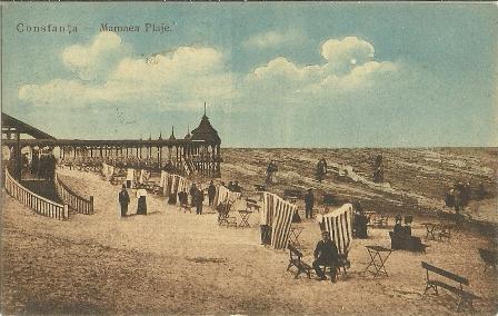 Asa arata Mamaia in 1906 cand s-au facut primele amenajari in scop turistic.