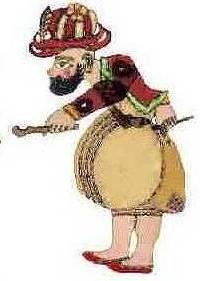 Karagoez-personaj central al teatrului de umbre otoman a dat naştere cuvântului caraghios