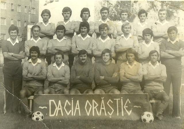 Fotografia dateaza din perioada de glorie a echipei cand evolua in Divizia B.