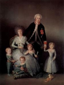 O familie in viziunea pictorului spaniol Francisco José de Goya y Lucientes