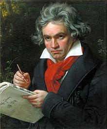Portret din 1820 realizat de Joseph Karl Stieler